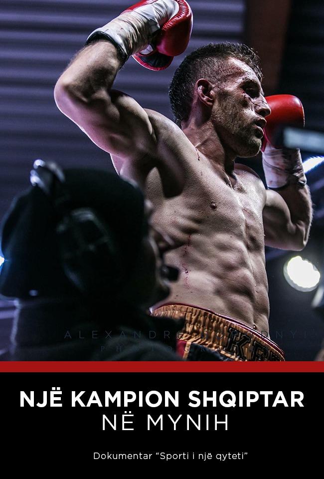 Një Kampion Shqiptar në Mynih