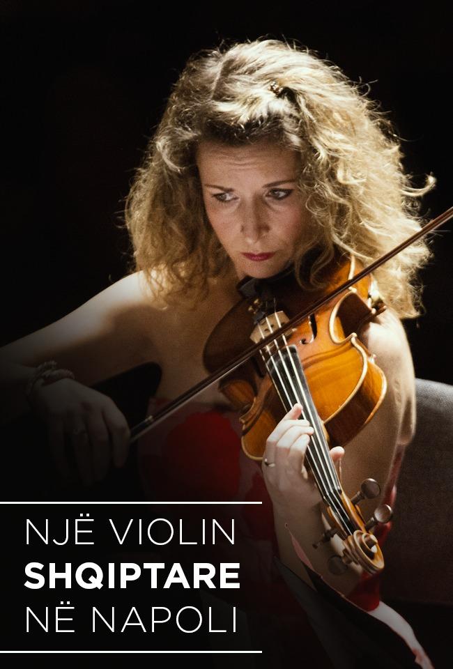 Një violinë shqiptare në Napoli