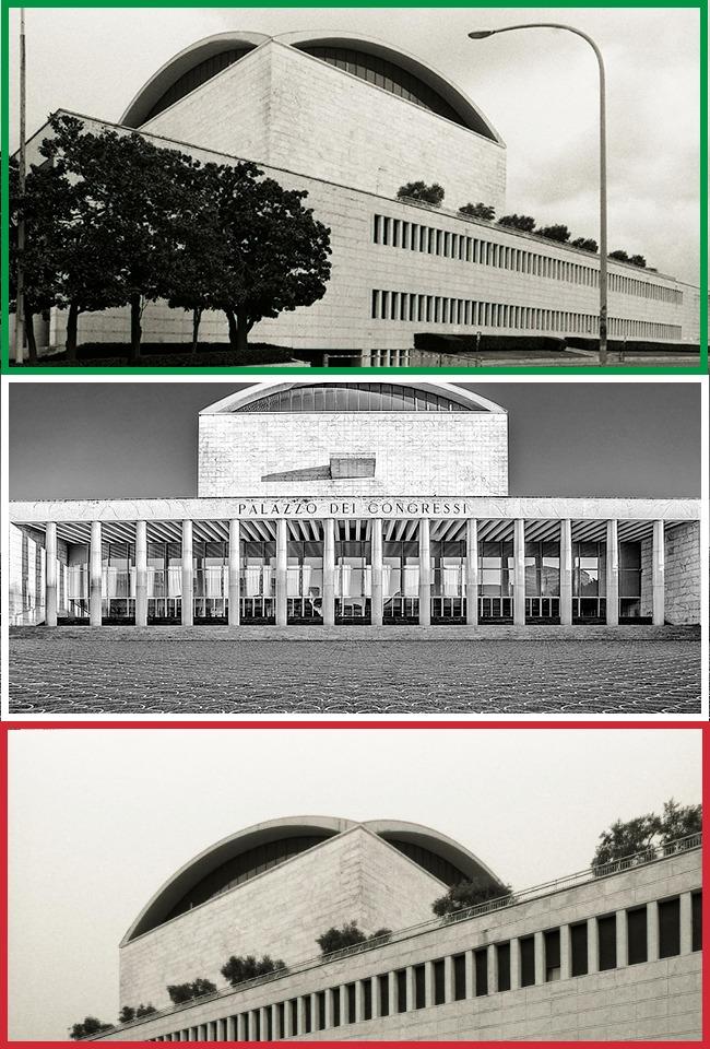 Pallati i pritjeve e kongreseve në Romë