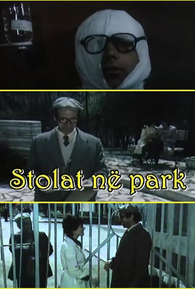 Stolat në park