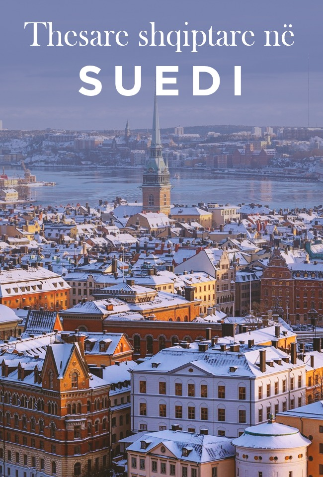 Thesare shqiptare në Suedi