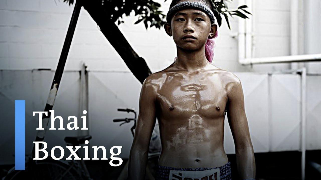 Tajlandë fëmijët në ring