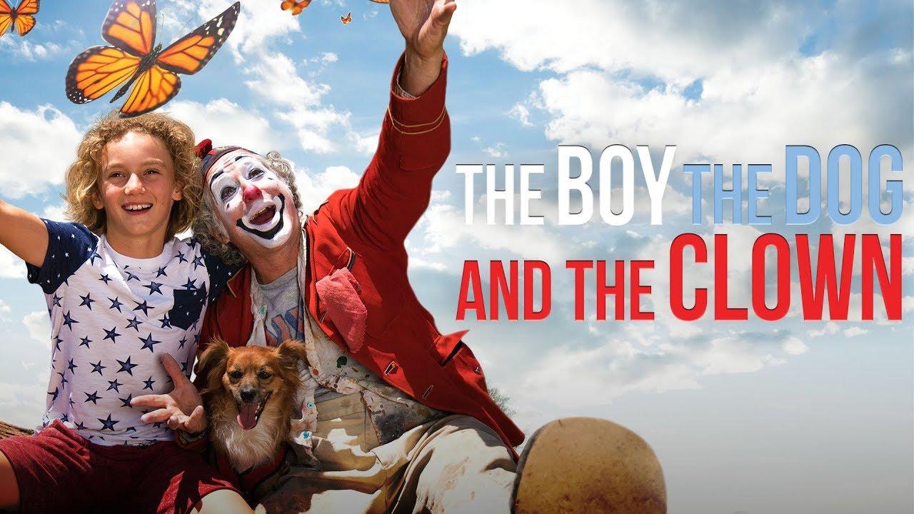 Djali, qeni dhe kllouni