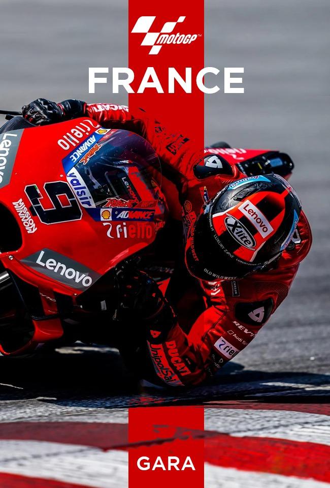 MotoGP France: Gara-ritransmetim