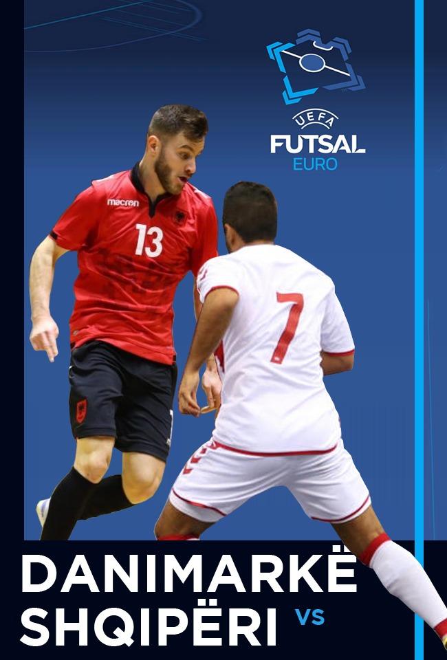Danimarkë-Shqipëri (Futsal Euro. 2022) -ritransmetim
