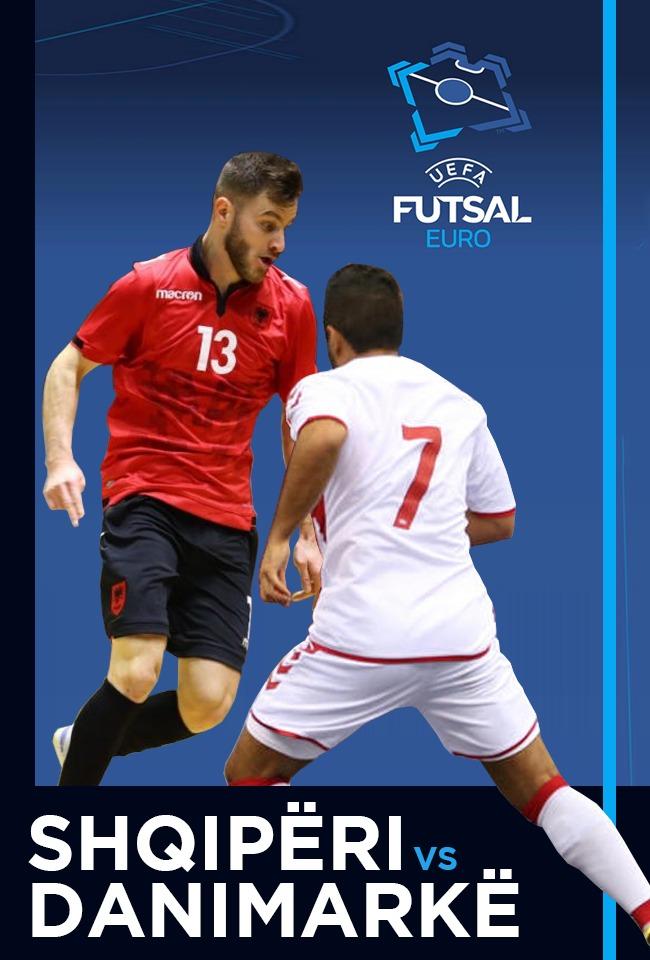 Shqipëri-Danimarkë (Futsal Euro. 2022) -ritransmetim