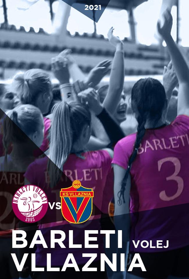 Barleti Volej-Vllaznia (Volejboll F. 2021) -ritransmetim