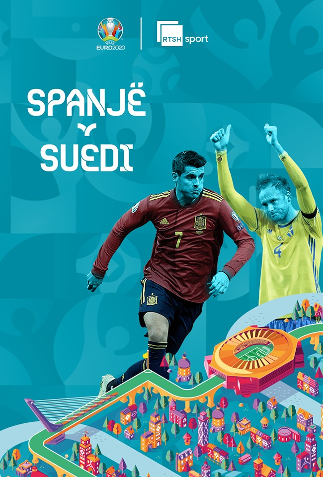 Spanjë-Suedi (EURO. 2020) -ritransmetim