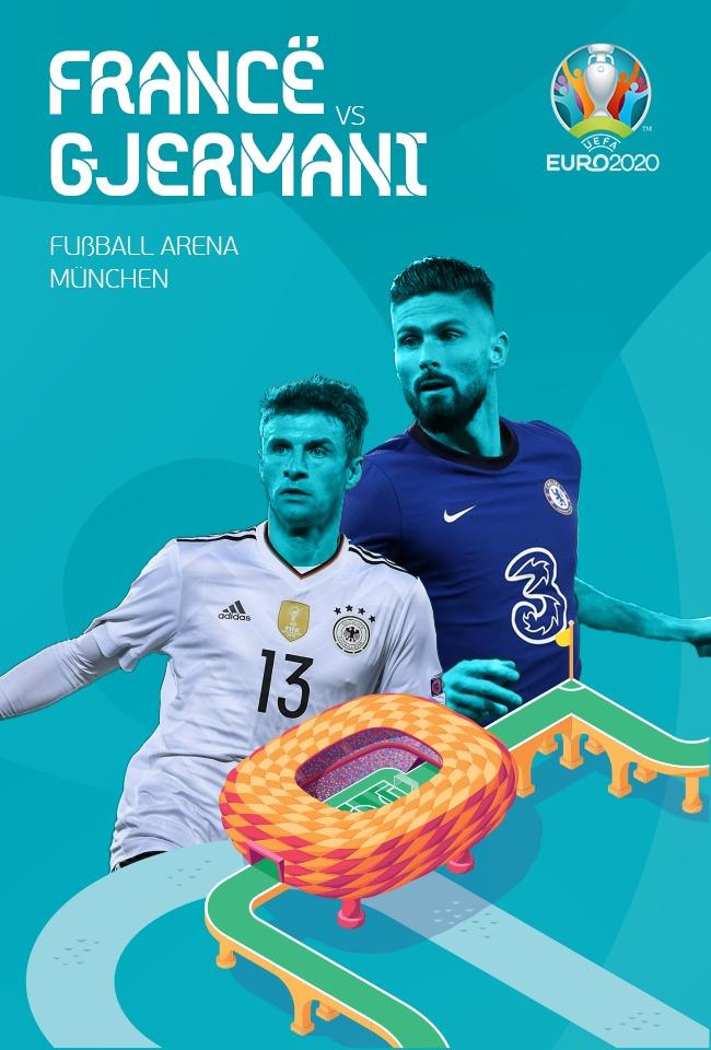 Francë-Gjermani (EURO. 2020) -ritransmetim