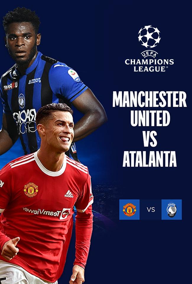 Manchester United-Atalanta (Champions League 2021-22) -ritransmetim