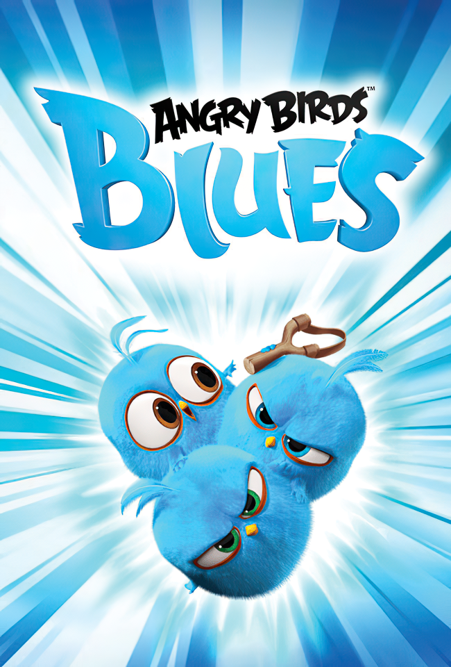 Zogjtë e zemëruar blu