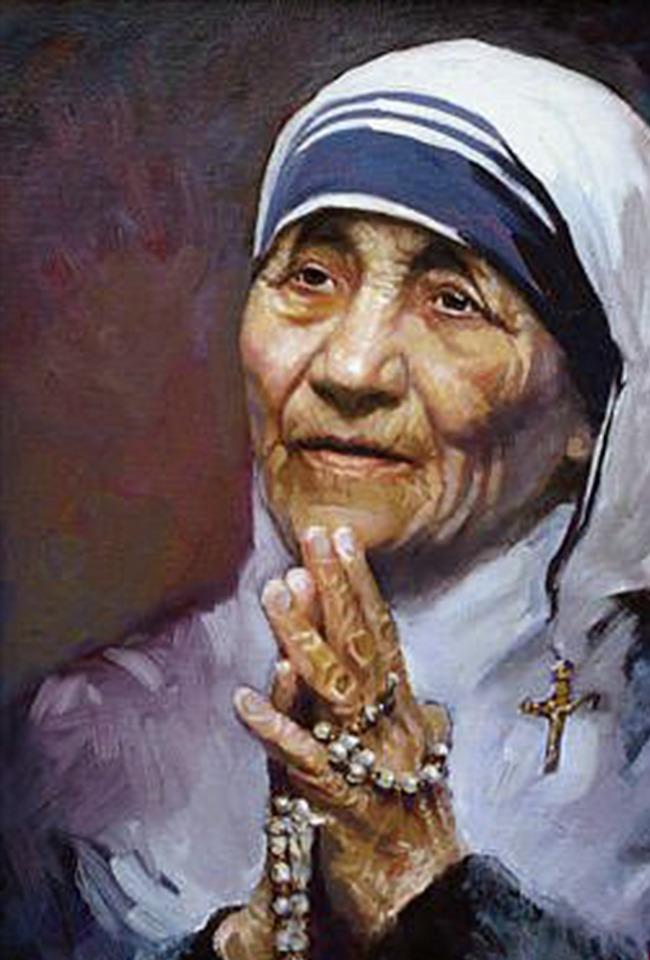 Shenjtëreshë, o Nënë jonë Terezë!