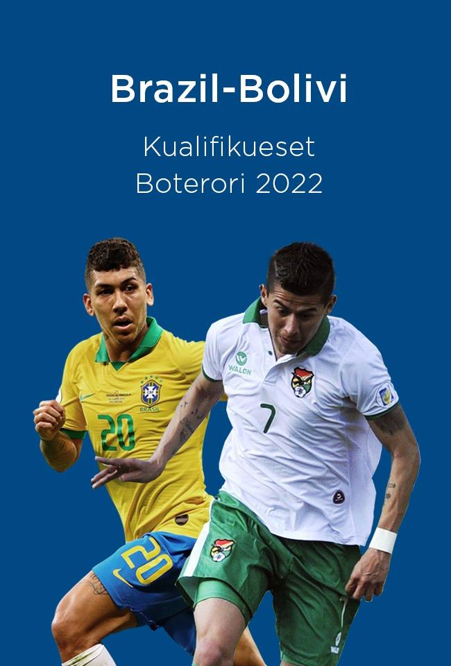 Brazil-Bolivi (Kualifikueset Boterori 2022) -ritransmetim